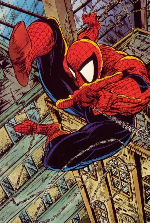 Spider-Man Todd McFarlane besides John remit a sr.  My favorite spider man artist.