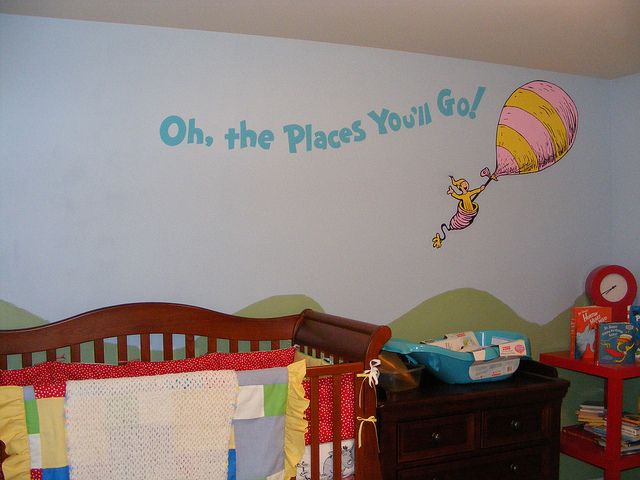 Dr Seuss Room Decor Dr Seuss Dr Suess Theme Wallpaper Wall Paper Art Sticker Mural Decal Nursery Wall Stickers Baby Room Decor Baby Room Themes
