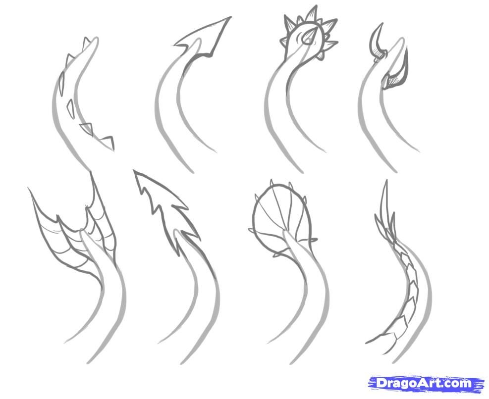 How To Draw Easy Dragons Step 6