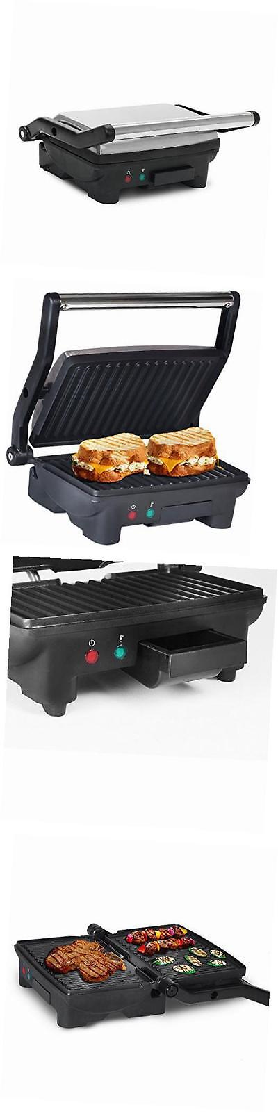 Grills and Griddles 20675: Large Electric Panini Sandwich Maker ...