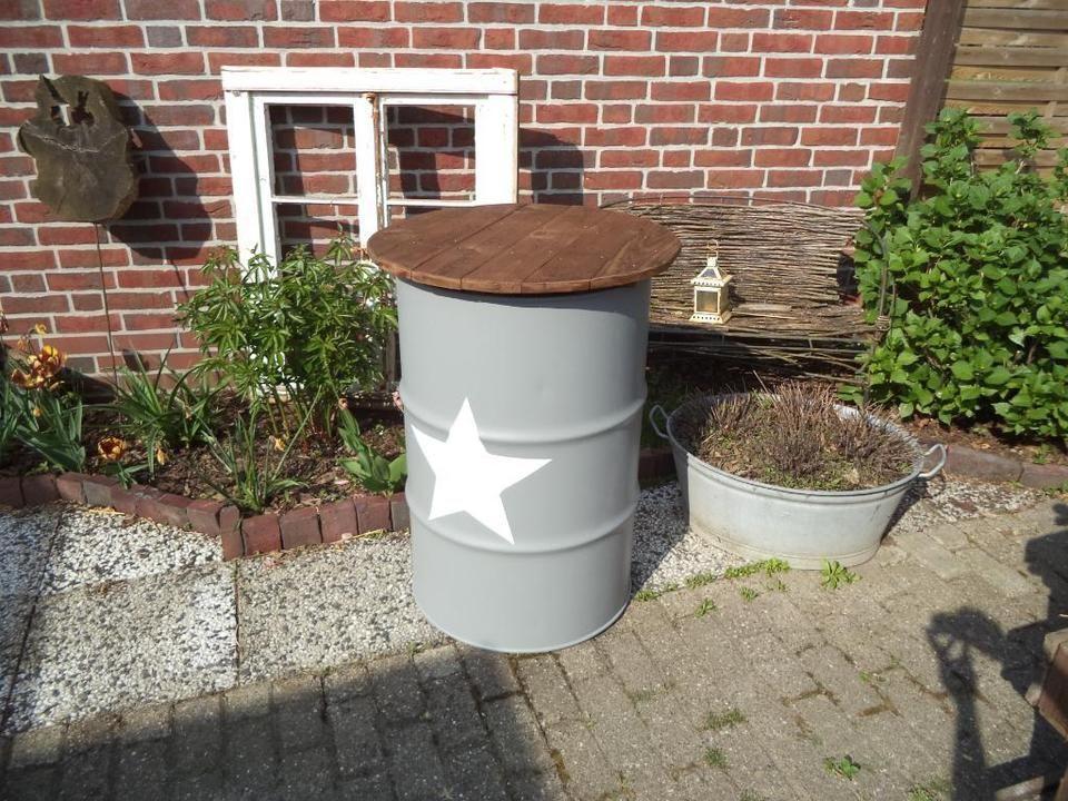 Stehtisch Fasstisch Fass Bistro Tisch Bistrotisch Theke Tonne In Niedersachsen Schortens Fasstisch Paletten Garten Garten Planen