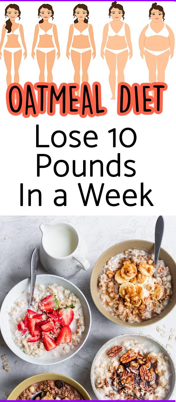 Photo of 7-Tage-Haferflocken-Diätplan, um 10 Pfund in einer Woche zu verlieren
