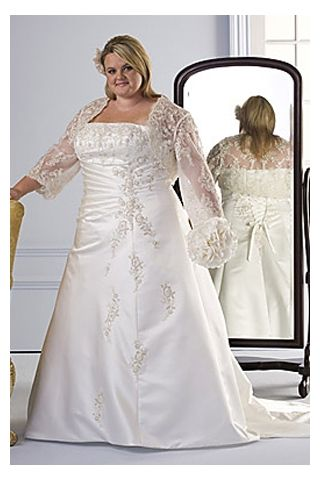 cutethickgirls inexpensive plus size wedding dresses (37