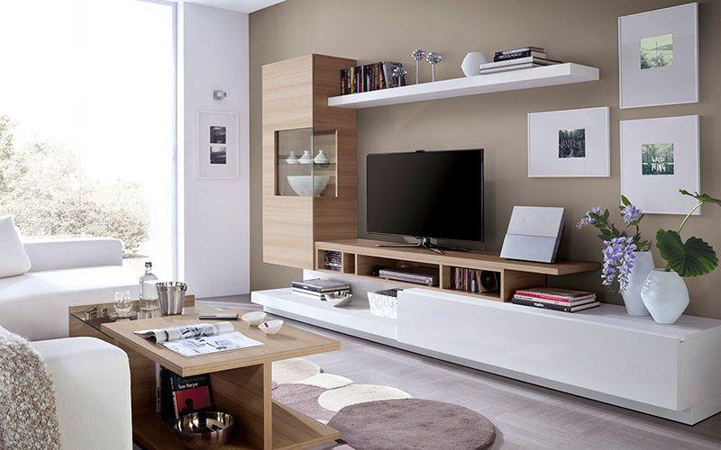 Ambientes con salones modernos fotos de composiciones for Fotos de muebles de salon