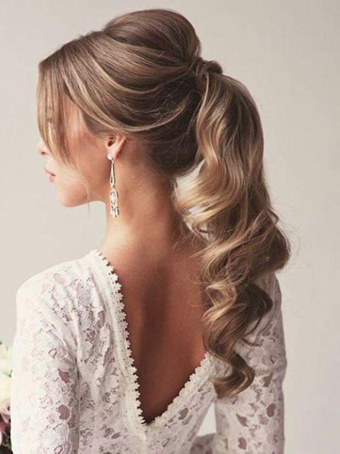 1001 Ideen Zum Thema Frisuren Fur Besondere Anlasse Anleitungen Frisuren Toupierte Haare Und Brautfrisuren Pferdeschwanz