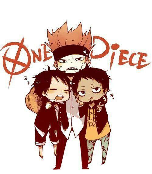 Kid, Law & Luffy | One Piece