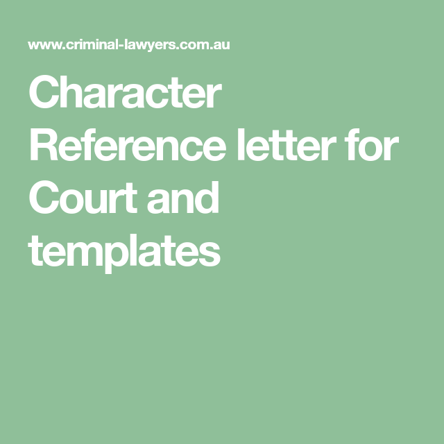 Character reference letter for court and templates just some info character reference letter for court and templates spiritdancerdesigns Image collections