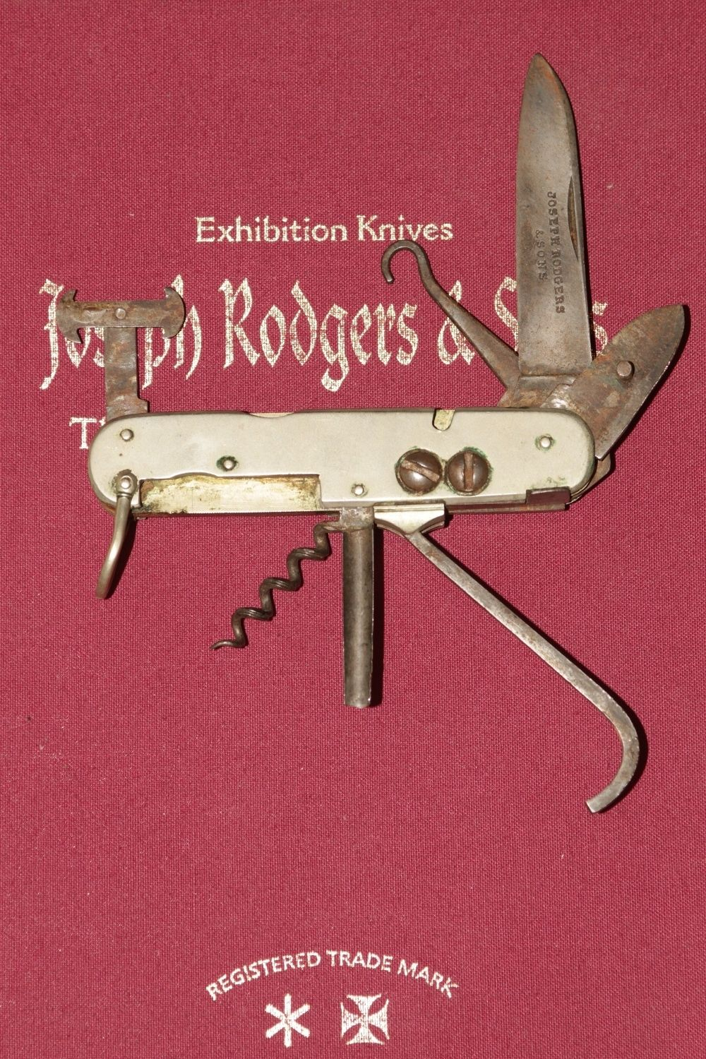 Joseph Rodgers Amp Sons Sportsmans Campaign Knife 1800s