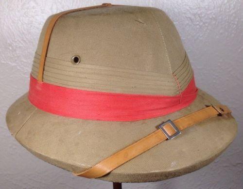 9b7953f5194fb RARE-Vintage-Banana-Republic-Bombay-Bowler-Safari-Hat-Pith-Helmet -Khaki-7-3-8