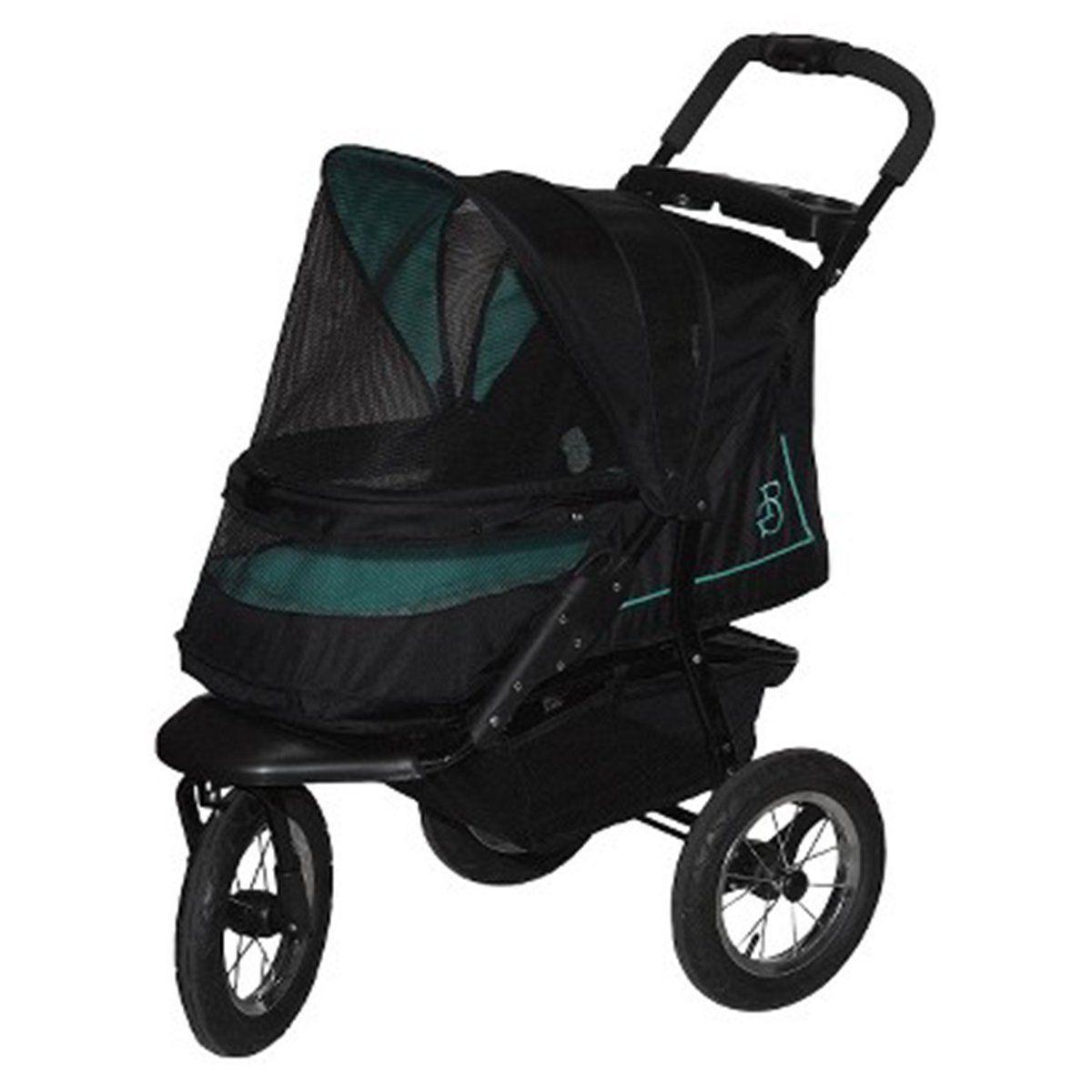 The green Pet Gear NV NoZip Pet Stroller > Additional