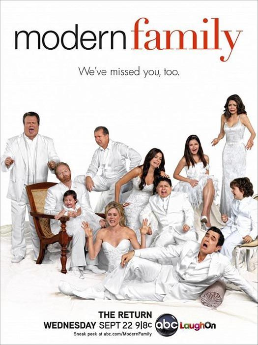 What S A Parent To Do Watch Modern Family And Learn Modern Family Modern Family Season 2 Family Tv