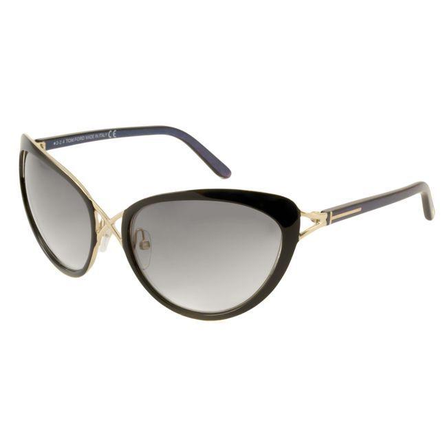 Tom Ford TF0321 Daria Women's Cat-Eye Sunglasses