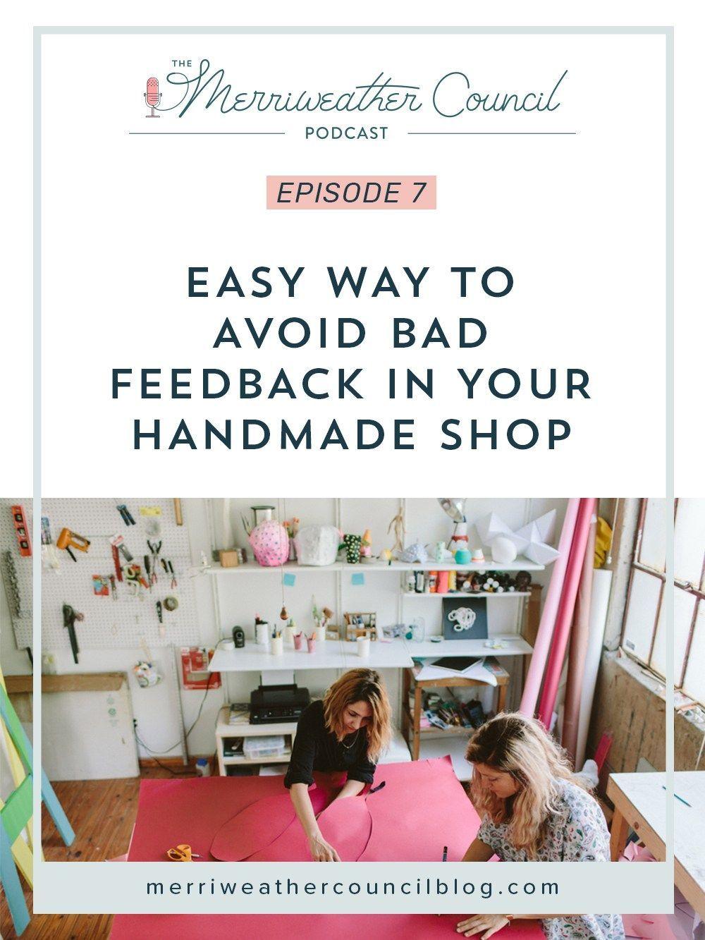 Avoid Negative Feedback on Etsy Handmade shop, Etsy