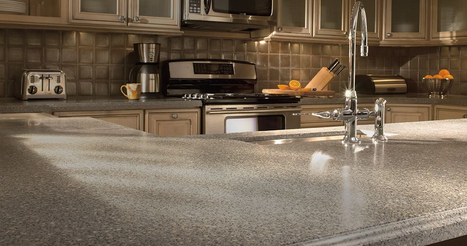 Countertops Installed By The Professional Contractors At The Home