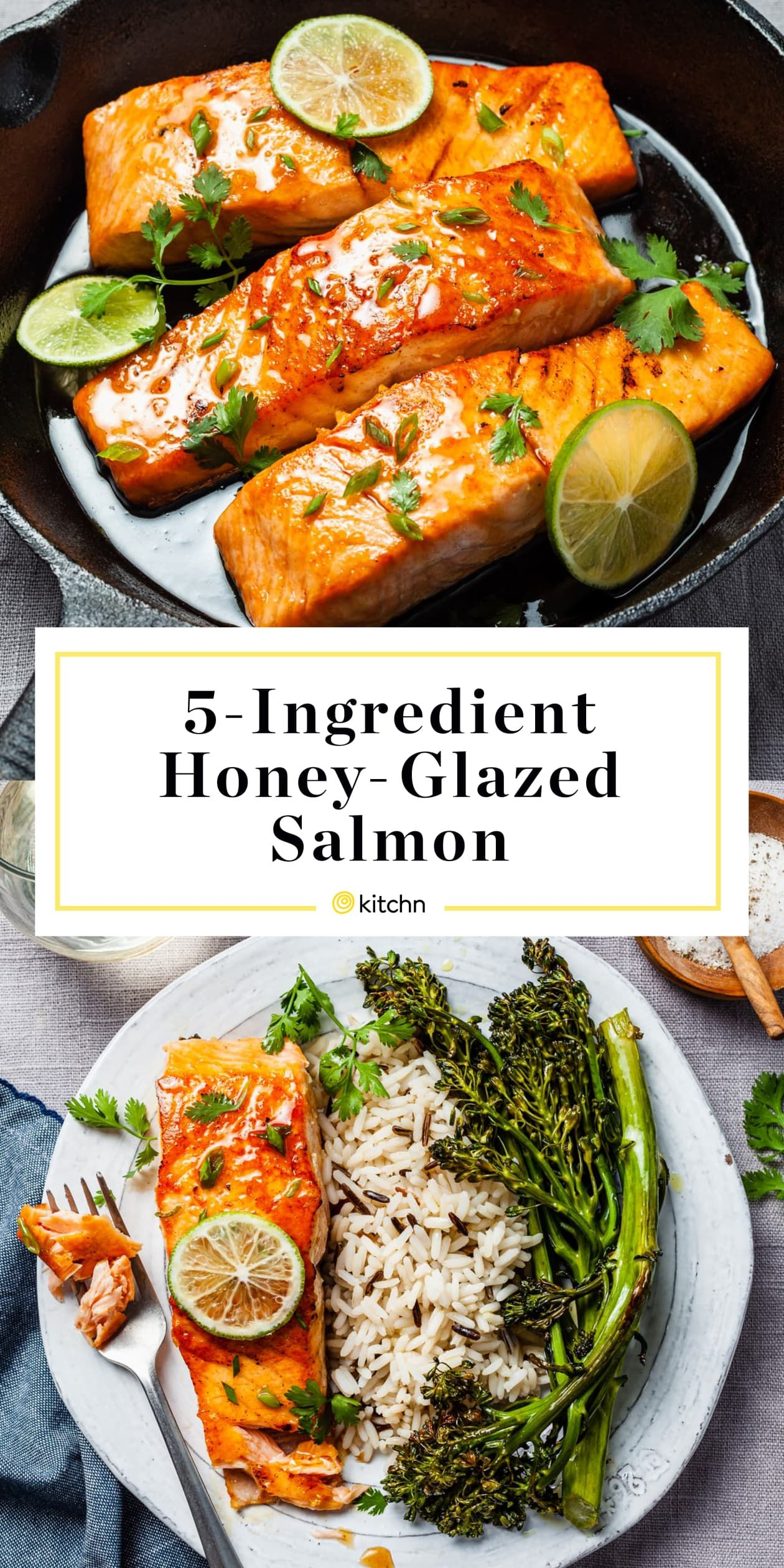 Fast, Flavorful Honey-Glazed Salmon Takes 15 Minutes and Just 5 Ingredients