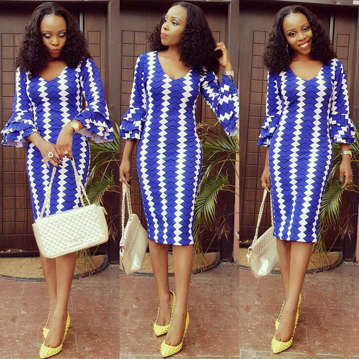 Fashion Dresses 2019: Latest Ankara Short Flare Gowns Styles 2019 In 2019