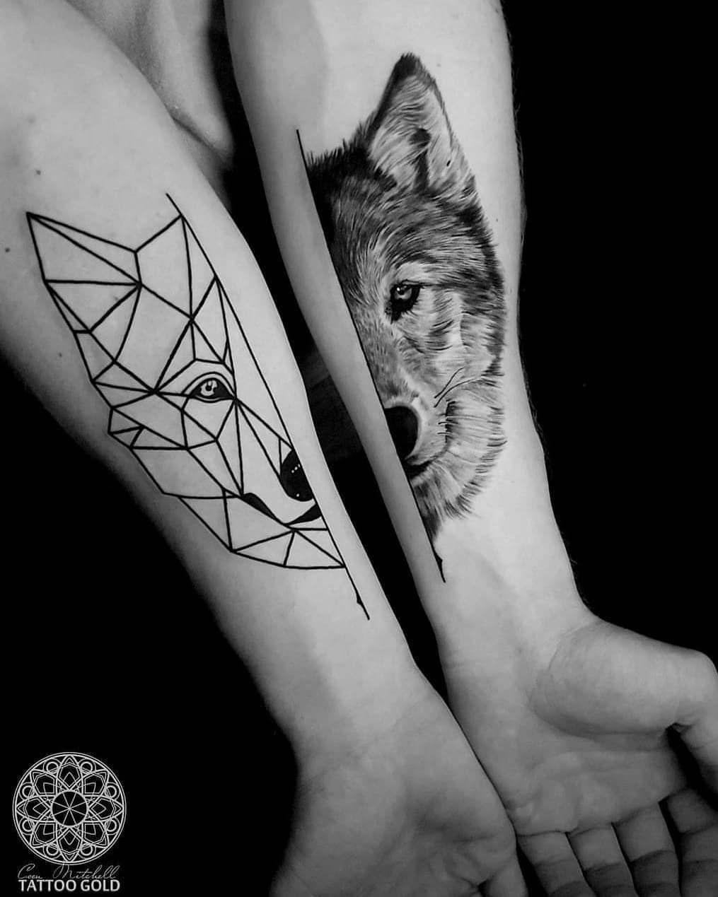Wolf Tattoo By Coen Mitchel Forearm Tattoos Inspirational Tattoos