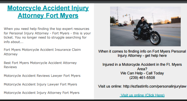 Pin On Motorcycle Accident Attorney
