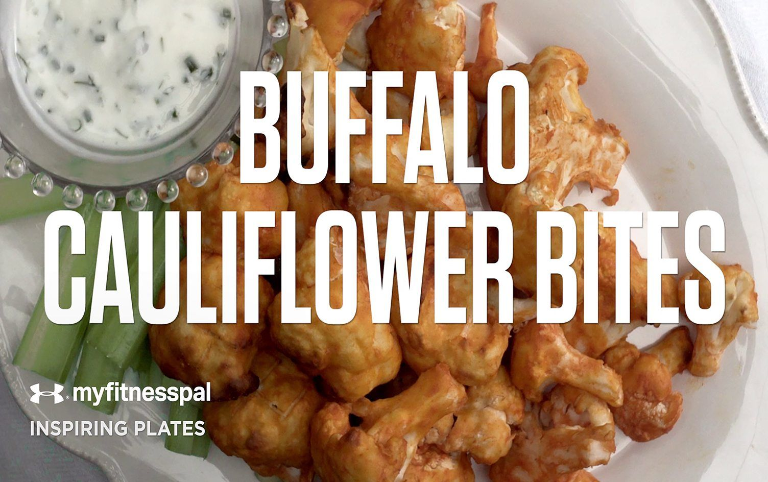 Recipe: Buffalo Cauliflower Bites [Video]