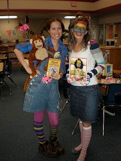 Character Day Ideas... Great ideas for the teachers costumes!  Book-a-ween!