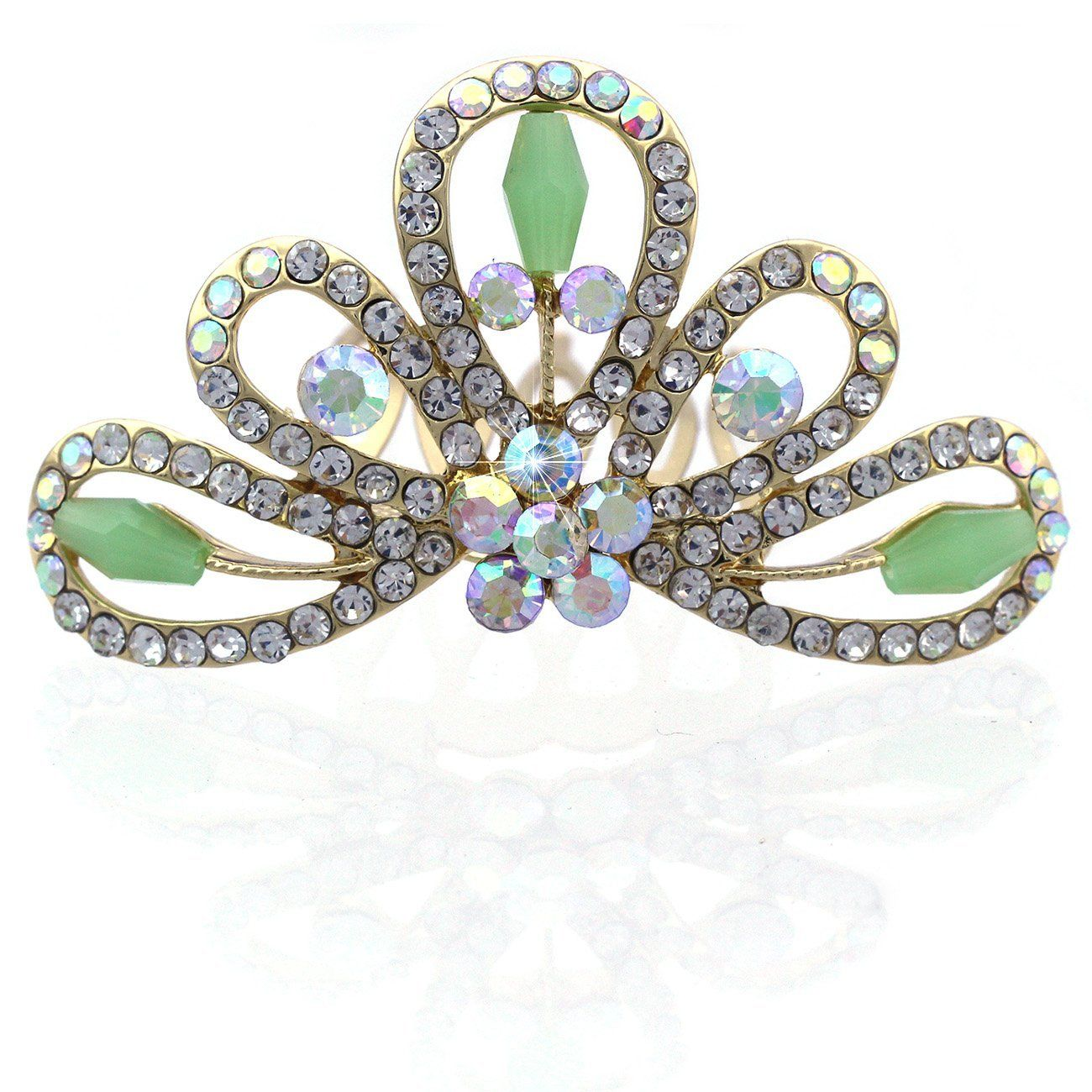 Ballerina Princess Crown Tiara Hair Comb * You can get more details by clicking on the image.