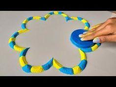 Top Beautiful Lid Trick Rangoli Designs जो आप भी बना लेंगे | ढक्कन से रंगोली बनाना सीखें 4 मिनिट में