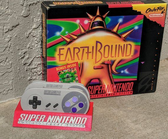 Super Nintendo Entertainment System Snes Snes30 Sfc30 8bitdo Etsy Super Nintendo Nintendo Logo Nintendo