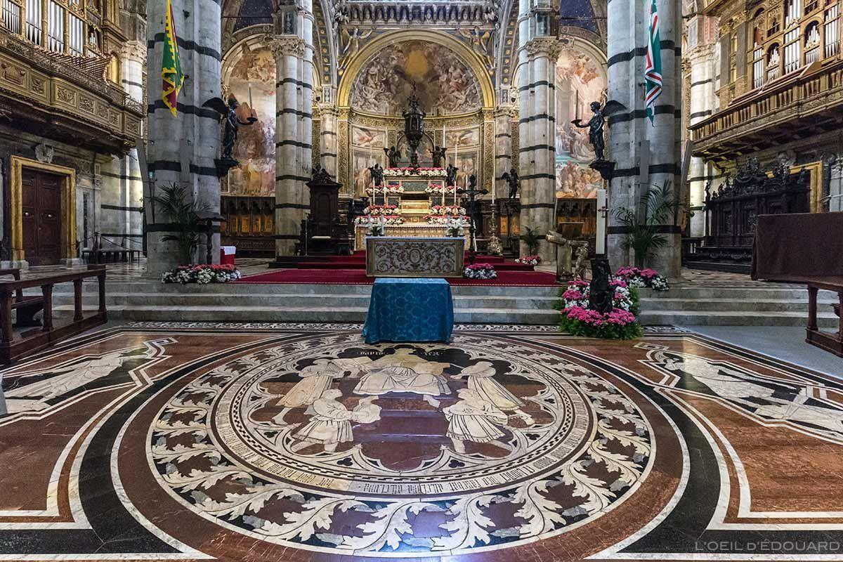 J Ai Visite Le Duomo De Sienne La Splendide Cathedrale Et Le Baptistere Blog Voyage Trace Ta Route Cathedrale Sienne Italie