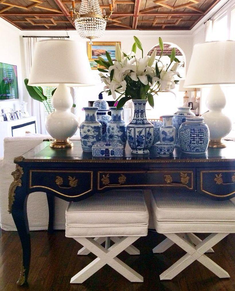 40 fantastic ideas ginger jars for living room decorations   ideen ... - Wunderschone Gasteschlafzimmer Design Ideen