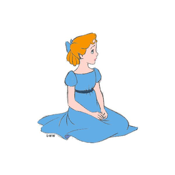Peter Pan Clipart ❤ liked on Polyvore featuring disney, peter pan ...