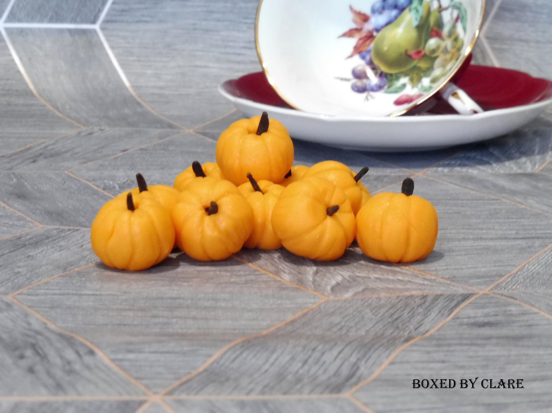 Marzipan Pumpkins - Little Pumpkins
