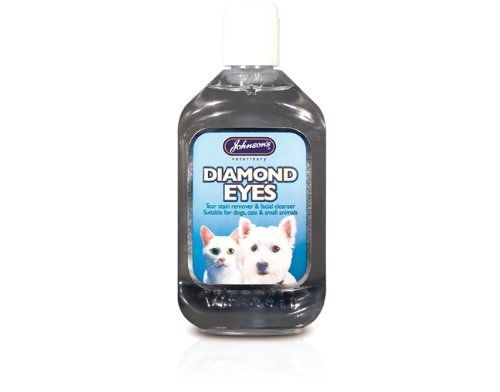 Johnsons Diamond Eyes Cat Dog Tear Stain Remover 250ml More Info Could Be Found At The Image Url This Is An Affil Dog Tear Stains Tear Stains Diamond Eyes
