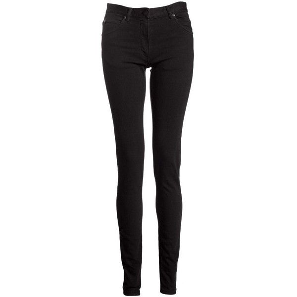 MAISON MARTIN MARGIELA 1 WOMEN'S FIVE POCKET JEANS ($438) ❤ liked on Polyvore featuring jeans, pants, bottoms, calças, pantalones, skinny jeans, black, women, maison martin margiela and black zipper jeans