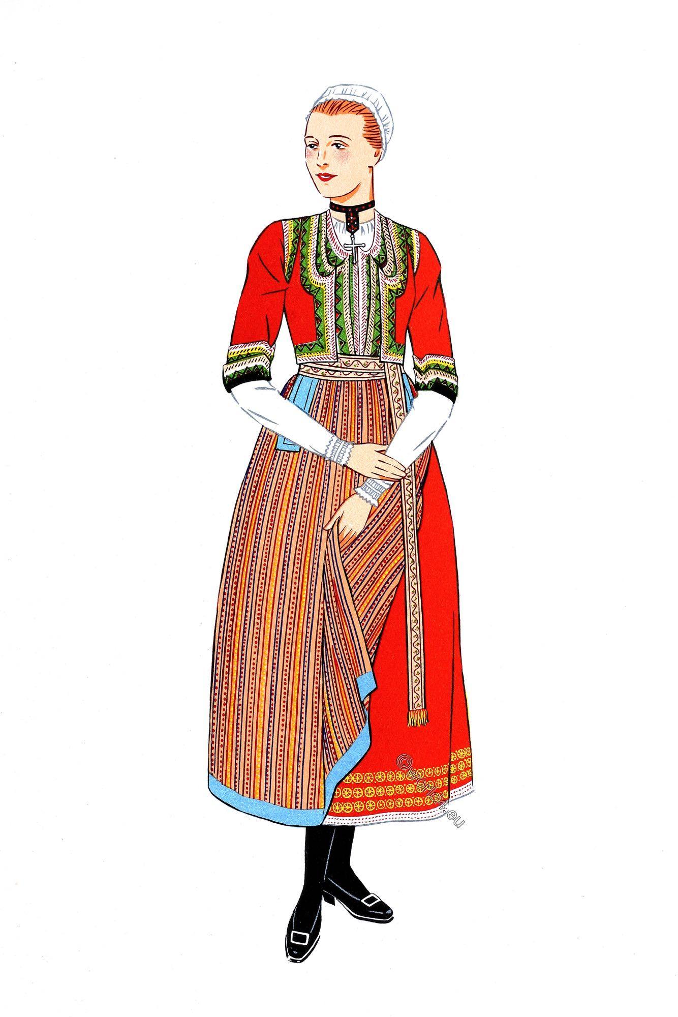 French national costumes. Les costumes regionaux de la