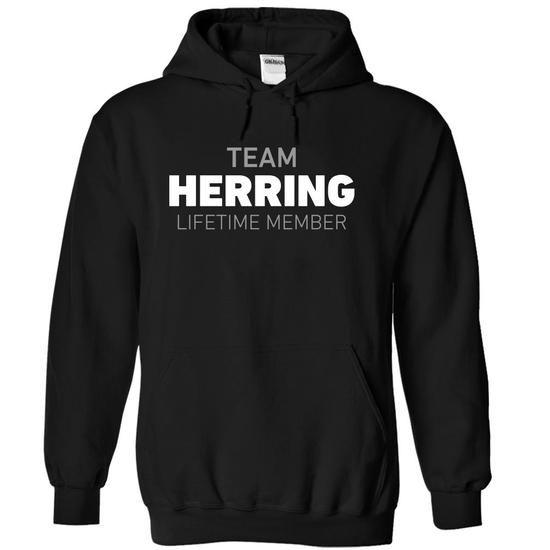 Team Herring - #gifts #bridesmaid gift. OBTAIN => https://www.sunfrog.com/Names/Team-Herring-mrrmr-Black-5745516-Hoodie.html?68278