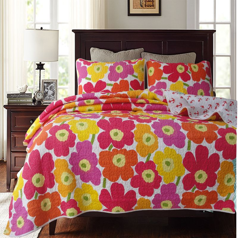 Find More Information about cotton water wash bedspread