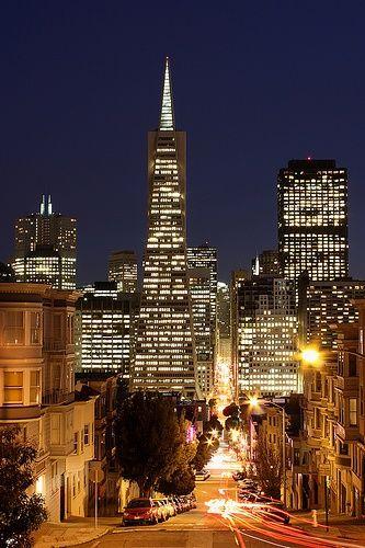 transamerica bldg san francisco ca | Transamerica Pyramid Building - San Francisco California