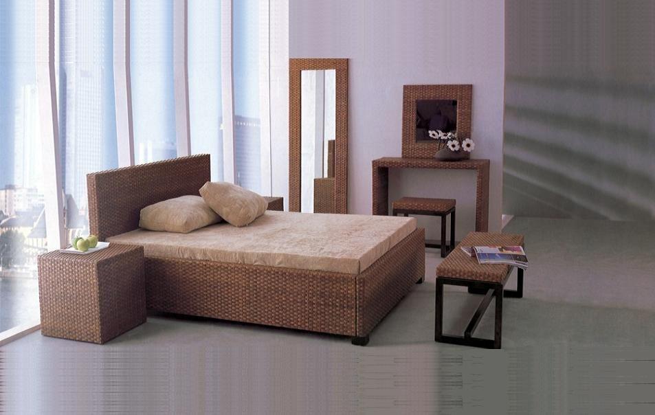 Fresh Wicker Rattan Bedroom Furniture