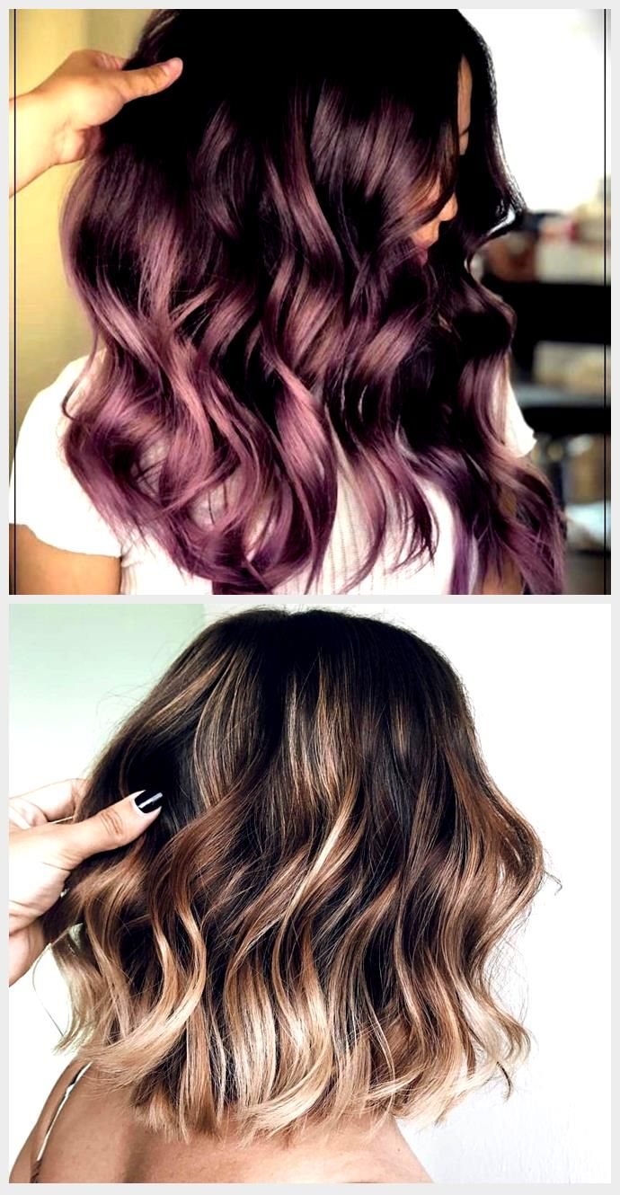 Chocolate Lilac: The ideal hair color for those who want a subtle change ...,  #change #chocolate #Color #Hair #ideal #lilac #subtle