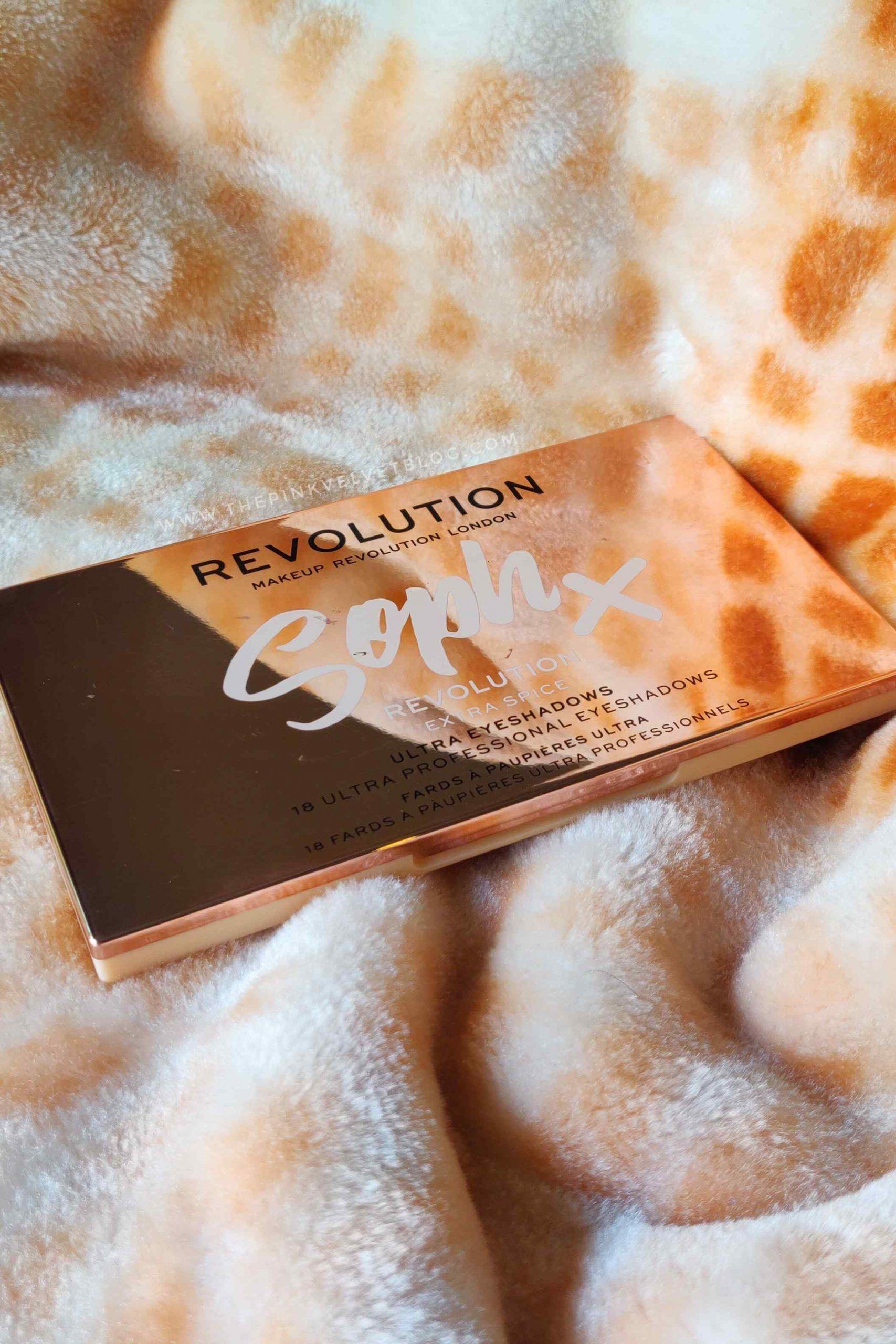 Makeup Revolution Soph X Extra Spice Eyeshadow Pal