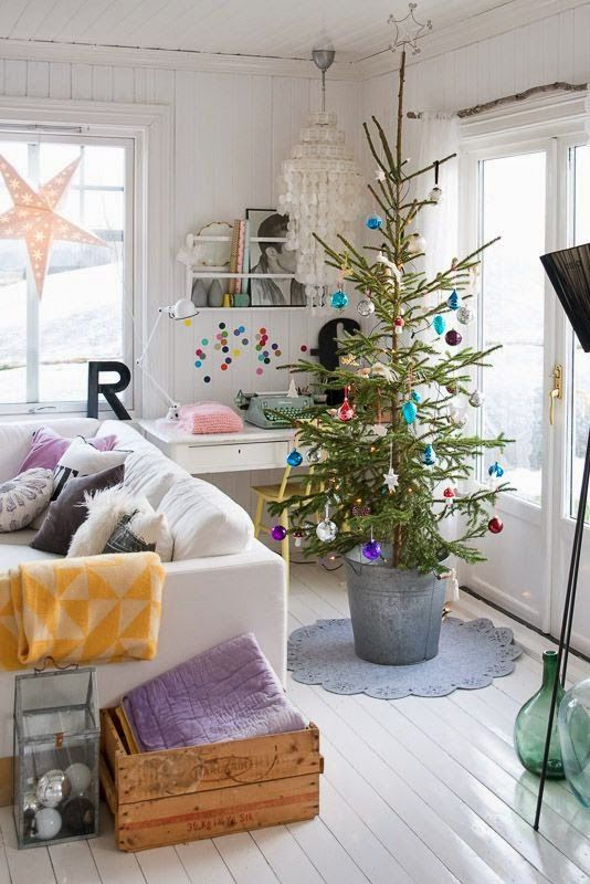 Get the look decorating our lake house for Christmas Holidays