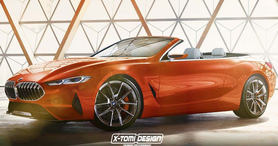 Bmw 8 Series Concept Looks Tempting As A Convertible Too Bmw