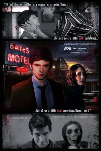 Pin By Amy Orvin On Horror Bates Motel Tv Show Bates Motel Bates Motel Cast