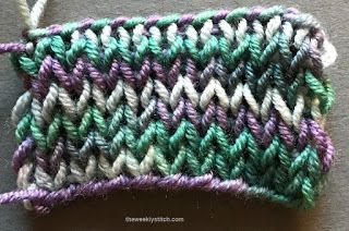The  Weekly  Stitch: Double Stockinette