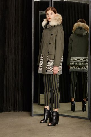 Love the coat. Cut25 by Yigal Azrouël Fall 2014 Ready-to-Wear Collection Slideshow on Style.com