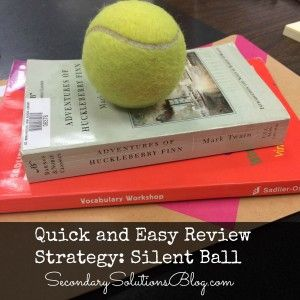 Dissertation classroom review games