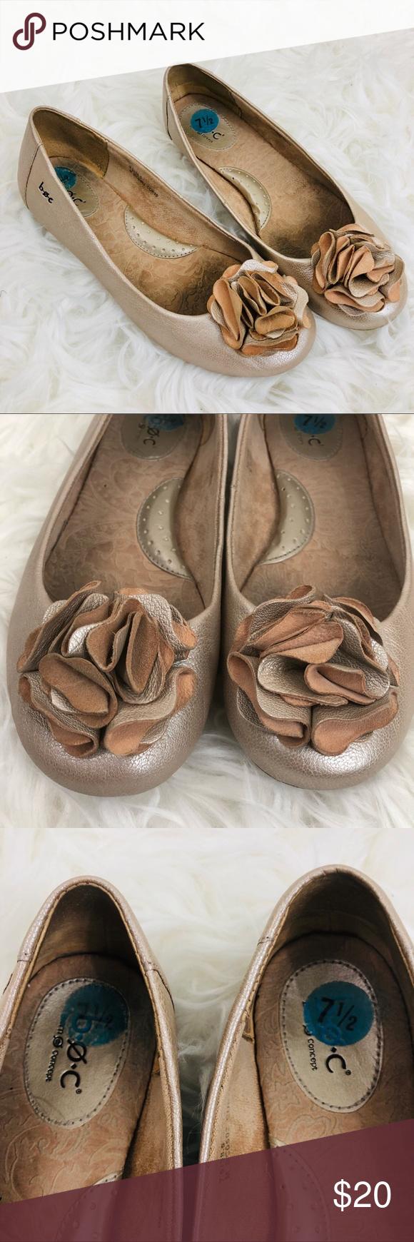 Born BOC Metallic Bronze Leather Ballet Flats 7.5 BOC Born Concepts. I have here a nice comfortable...