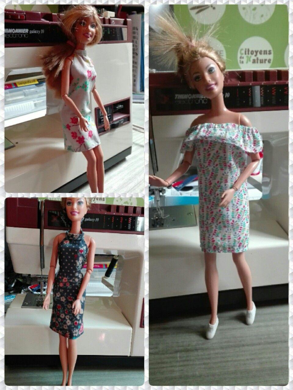 Petites robes d'été pour Barbie