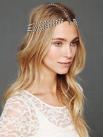 Pearl Chain Headpiece