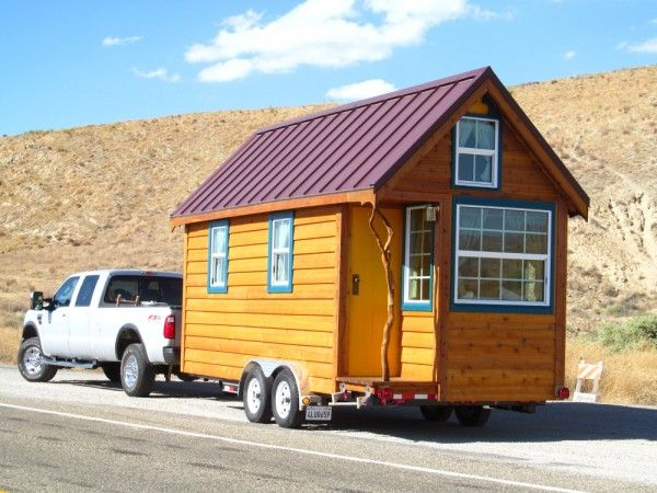 I want a tiny house to pull behind my Jeep Tiny Houses Spaces
